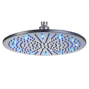 jia you jia 16 inch led stainless rain showerhead