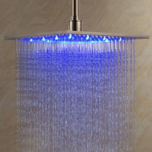 bathroom faucets 1158 12 inch led stainless showerhead b0141xmttq