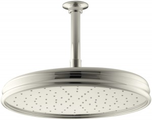 kohler 2 0 gpm traditional 8 inch showerhead k 45202 sn