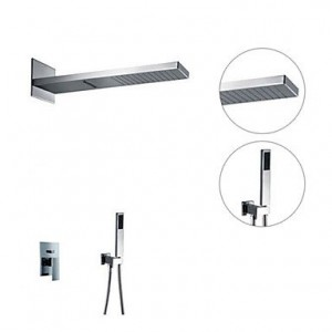 bathroom faucets contemporary wall mount shower b0141vew3e
