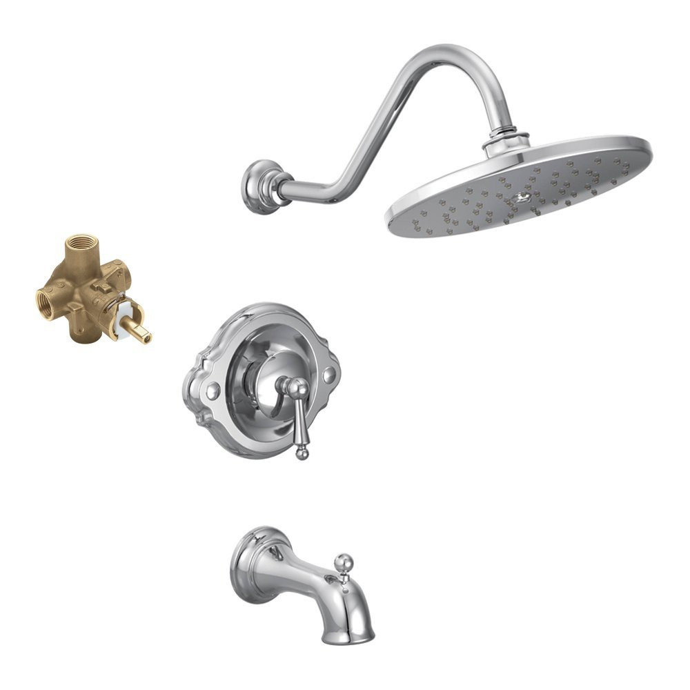 Moen Shower Faucets Lowes Dual Head Fresh