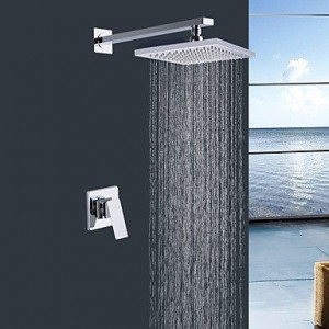 bathroom faucets shengbaier wall mount rain single handle b0141vek3g