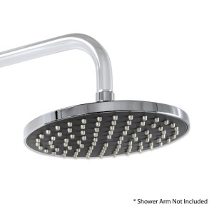 decor star 7 1 2 inch chrome rainfall showerhead rsh01 tc