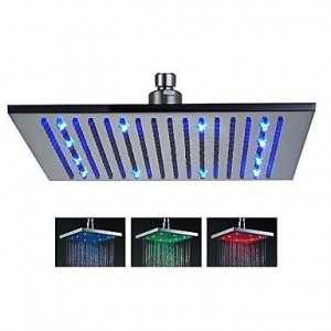 sk shower tap 16 inch led color changing showerhead