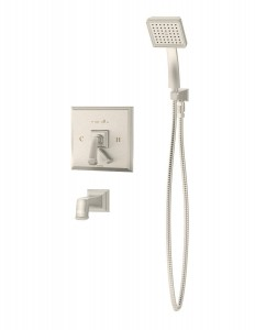 symmons oxford tub hand shower s 4204 stn