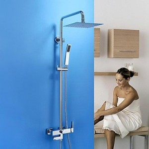 asbefore contemporary rain handshower included brass chrome b0150c5r6y