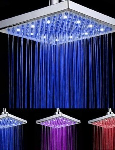 kitchen faucet 8 inch led color changing showerhead b015f41asq