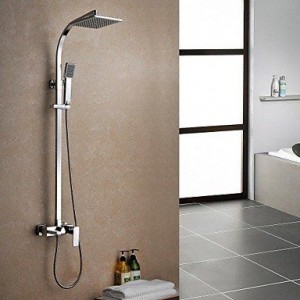 lipaul single handle brass rain shower b015k689r4