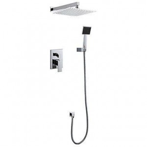 luci 12 inch contemporary wall mounted showerhead b015h8w444