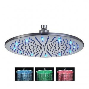 luci 12 inch stainless steel led showerhead-b015h2wyeu