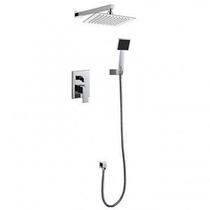 luci 8 inch contemporary wall mounted showerhead-b015h8k5fy