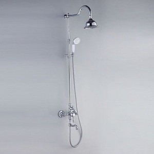 luci contemporary chrome hand showerhead b015h8l0gc