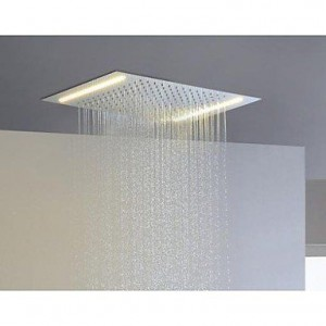 luci stainless steel energy saving led showerhead b015h8vroc