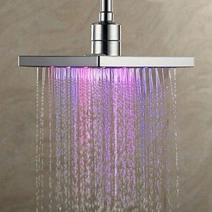 swe 8 inch led automatic color changing shower b015k8q4mo