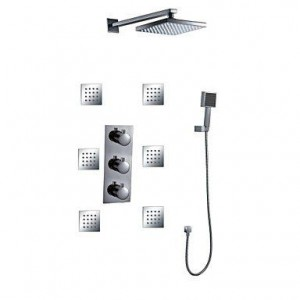 wckdjb 8 inch thermostatic rainfall handshower b015dmkqdk