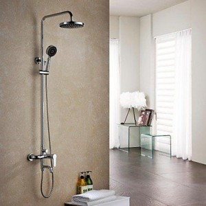 wckdjb single handle chrome brass rain shower b015dmmx1s