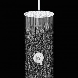 xzl contemporary 12 inch slim design showerhead b015h87qyc