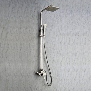 xzl wall mounted 8 inch square showerhead b015h87d0y
