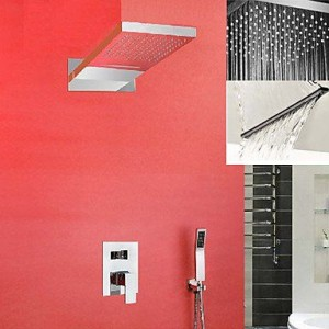 xzl wall mounted rainfall shower b015h827ka