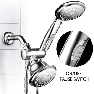 hotelspa specials 42 setting showerhead with pause switch b00v5dgbou