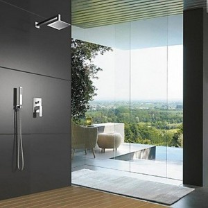 qin linyulongtou wall mounted shower set 17545