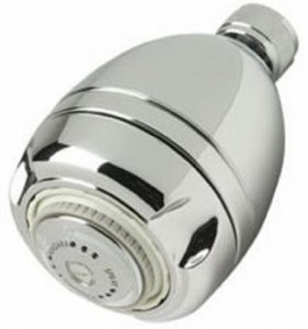 earth massage niagara chrome showerhead n2915ch