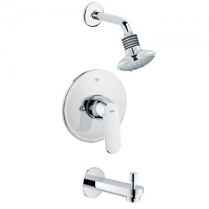 grohe eurosmart cosmo tub shower combo 35019000