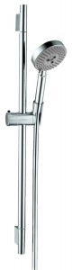 hansgrohe unica s wallbar set 04266000 24 inch