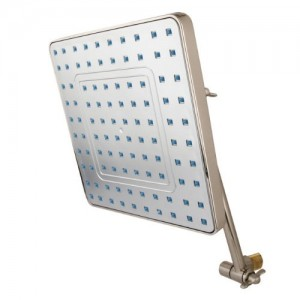 kingston brass trimscape full spray square rain shower kx4648k8