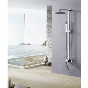 lightinthebox 8 inch single wall mount rainfall shower 029002798
