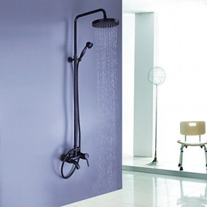 miss shower wall mounted handheld rain shower