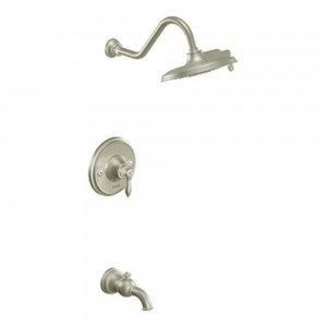 moen weymouth posi temp tub shower trim kit showerhead