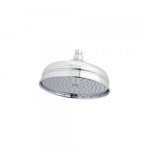 rohl 4 inch polished chrome bordano raincan showerhead 1007 8apc
