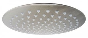 yodel round ultra thin rainfall showerhead 12 inch