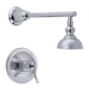 danze sonora single handle shower trim kit d504554t