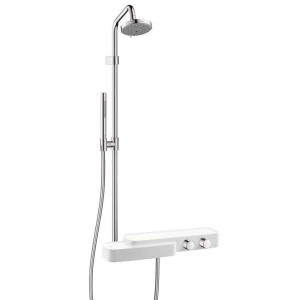 axor bouroullec chrome showerpipe 19670401