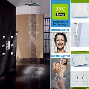 zbobo shower head thermostatic 3 colors showerhead