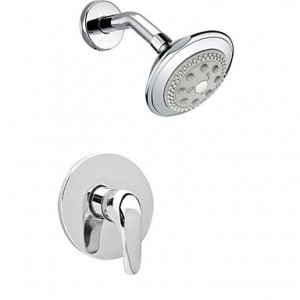 shower faucets chrome wall mount rain showerhead b00omnw2pw