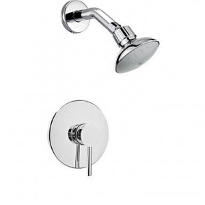 shower faucets chrome wall mount rain showerhead b00omnwv62
