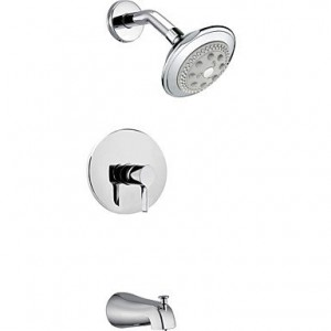 shower faucets chrome wall mount rain showerhead b00pn0f8vs