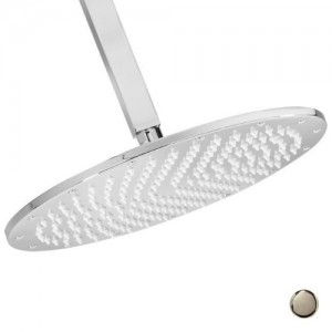 westbrass d3812 20 stainless steel contemporary thin round 12 inch showerhead b0067od4lu