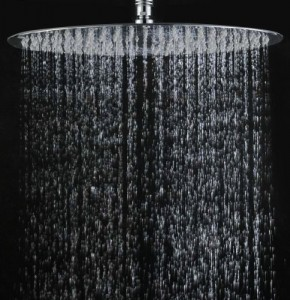 akdy stainless 15 3 4 inch rain shower head chrome