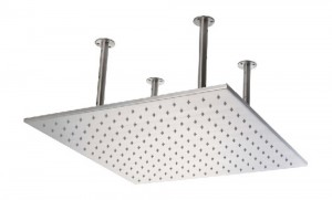 alfi 20 inch led square stainless rain showerhead led5014