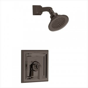 american standard town square shower trim kit with rain showerhead t555 501 224