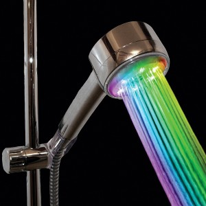 closeoutzone color changing showerhead nozzle rainbow led lights