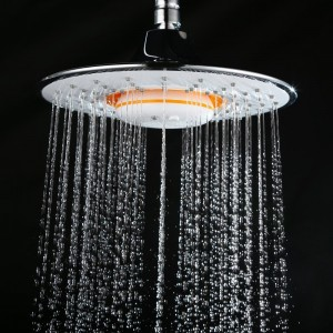 himylen rain showerhead jet with rechargeable wireless bluetooth speaker
