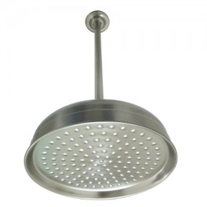 kingston brass designer trimscape victorian 10 inch showerhead with 17 inch ceiling support k225k28