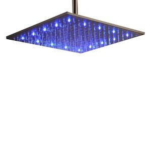 lightinthebox 16 inch stainless led rainfall showerhead