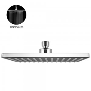 lordear 8 5 inch square ajustable showerhead t14707