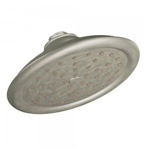 moen one function rainshower showerhead s6310epbn 7 inch
